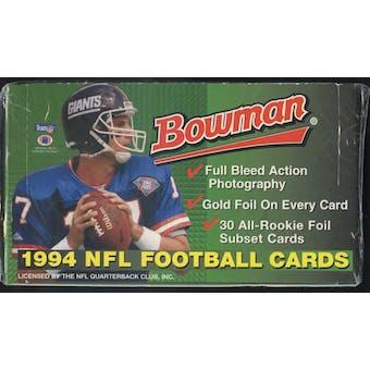 1994 Bowman Football Jumbo Box