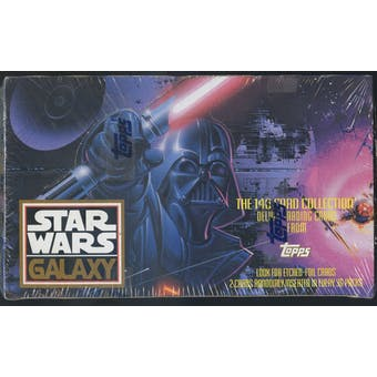 Star Wars Galaxy Series 1 Box (Topps 1993)