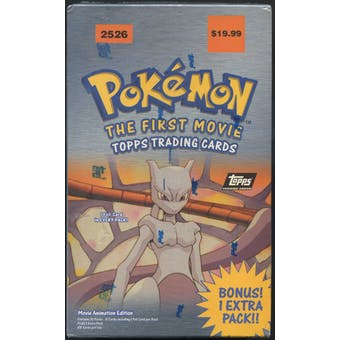 Pokemon The First Movie Blaster Box (1998 Topps)