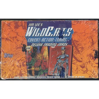 Jim Lee's WildC.A.T.S. Trading Card Box (1993 Topps)