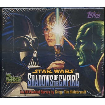 Star Wars Shadows Of The Empire Box (1996 Topps)