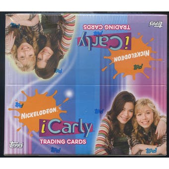 iCarly Nickelodeon Trading Card Box (2008 Topps)