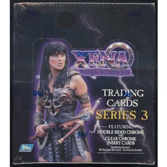 Xena Series 3 Hobby Box (1999 Topps) (Reed Buy)