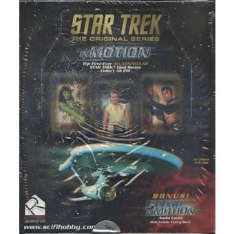 Star Trek The Original Series In Motion Hobby Box (1999 Rittenhouse)