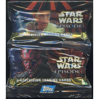 Star Wars Episode 1 Widevision Box (1999 Topps)