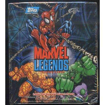 Marvel Legends Trading Cards Box (2001 Topps)