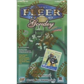 1997 Fleer Goudey Series 1 Football Hobby Box