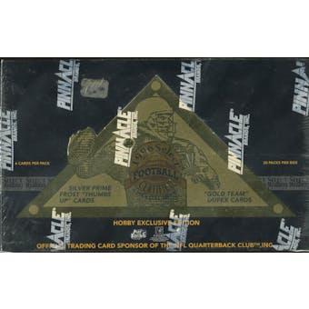 1996 Pinnacle Select Certified Football Hobby Box