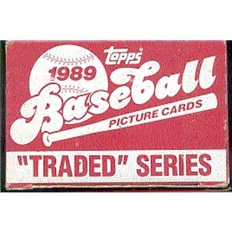 1989 Topps Traded & Rookies Baseball Factory Set