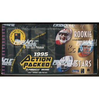 1995 Action Packed Rookies & Stars Football Hobby Box