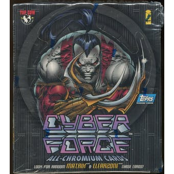 Cyber Force Box (1995 Topps)