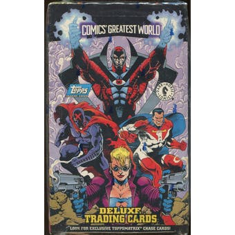 Comics Greatest World Deluxe Trading Card Box (1994 Topps)