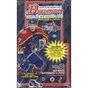 2001/02 Bowman Young Stars Hockey Hobby Box