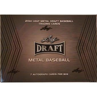 2014 Leaf Metal Baseball Hobby Box