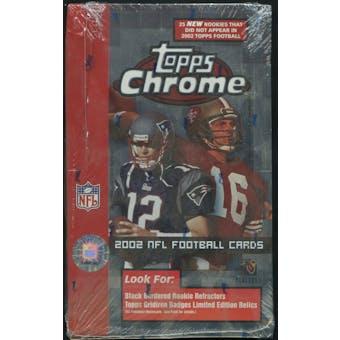 2002 Topps Chrome Football Retail Box