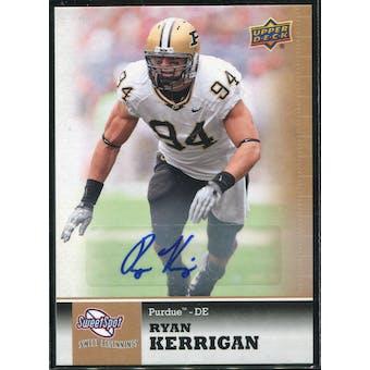 2011 Upper Deck Sweet Spot Autographs #44 Ryan Kerrigan RC