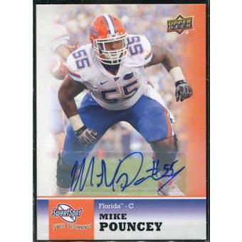 2011 Upper Deck Sweet Spot Autographs #51 Mike Pouncey RC