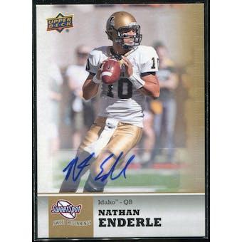 2011 Upper Deck Sweet Spot Autographs #53 Nathan Enderle RC