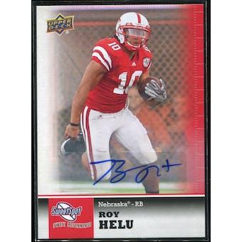 2011 Upper Deck Sweet Spot Autographs #61 Roy Helu RC