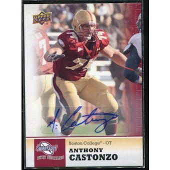 2011 Upper Deck Sweet Spot Autographs #65 Anthony Castonzo RC