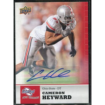 2011 Upper Deck Sweet Spot Autographs #72 Cameron Heyward RC