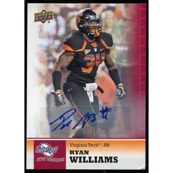 2011 Upper Deck Sweet Spot Autographs #100 Ryan Williams RC