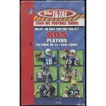 2004 Topps Total Football Retail Box