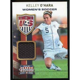 2012 Panini Americana Heroes and Legends US Women's Soccer Materials #13 Kelley O'Hara /199