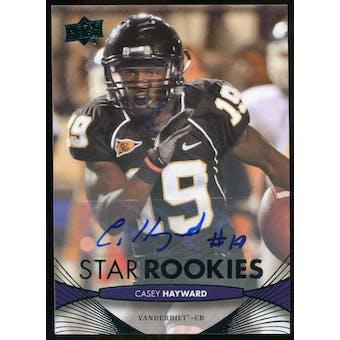 2012 Upper Deck Rookie Autographs #68 Casey Hayward Autograph