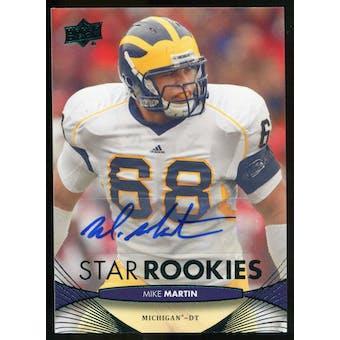2012 Upper Deck Rookie Autographs #141 Mike Martin Autograph