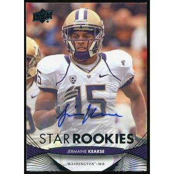 2012 Upper Deck Rookie Autographs #94 Jermaine Kearse Autograph