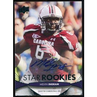2012 Upper Deck Rookie Autographs #199 Melvin Ingram Autograph