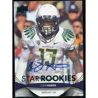 2012 Upper Deck Rookie Autographs #71 Cliff Harris Autograph