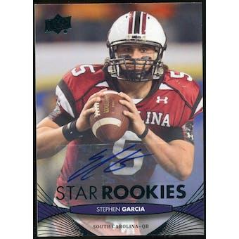 2012 Upper Deck Rookie Autographs #246 Stephen Garcia Autograph