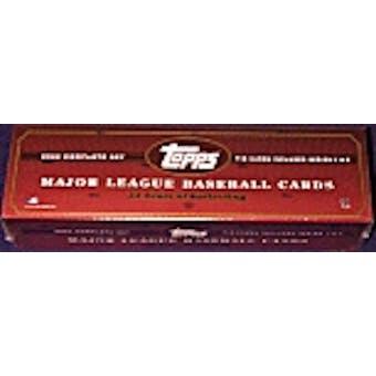 2002 Topps Baseball Hobby Factory Set (Box) (Brown)