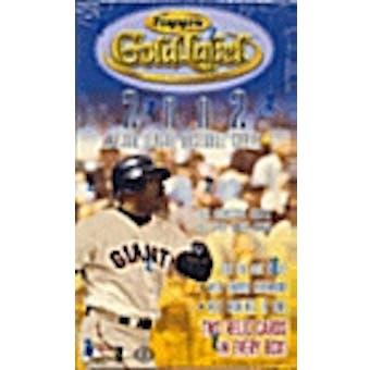 2002 Topps Gold Label Baseball Hobby Box