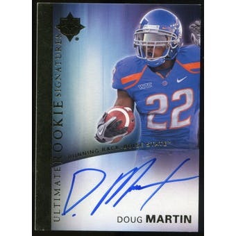 2012 Upper Deck Ultimate Collection Rookie Autographs #7 Doug Martin Autograph