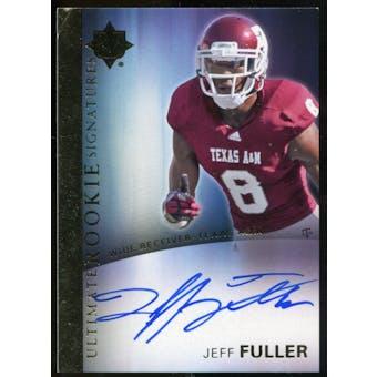 2012 Upper Deck Ultimate Collection Rookie Autographs #11 Jeff Fuller Autograph