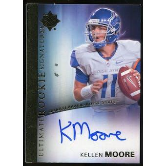 2012 Upper Deck Ultimate Collection Rookie Autographs #13 Kellen Moore Autograph