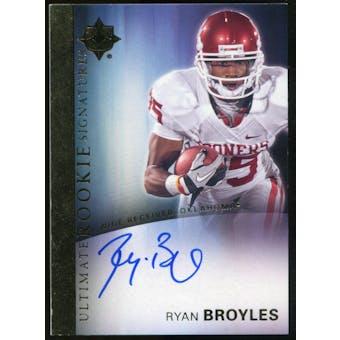 2012 Upper Deck Ultimate Collection Rookie Autographs #19 Ryan Broyles Autograph