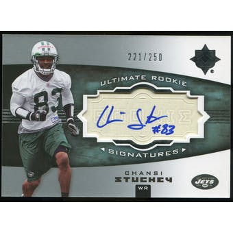 2007 Upper Deck Ultimate Collection #133 Chansi Stuckey RC Autograph /250