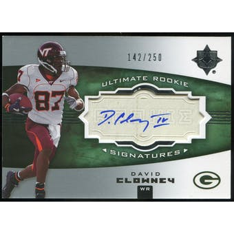 2007 Upper Deck Ultimate Collection #138 David Clowney RC Autograph /250