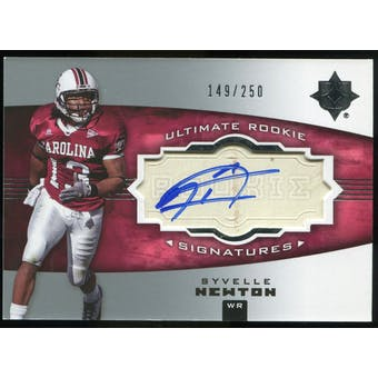 2007 Upper Deck Ultimate Collection #157 Syvelle Newton RC Autograph /250