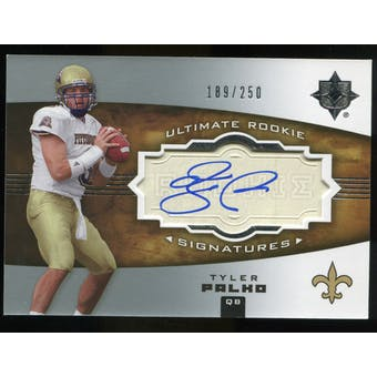 2007 Upper Deck Ultimate Collection #159 Tyler Palko RC Autograph /250