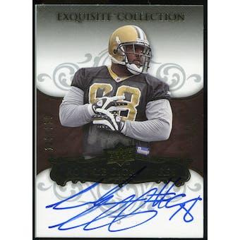 2008 Upper Deck Exquisite Collection #141 Sedrick Ellis RC Autograph /150