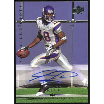 2008 Upper Deck Signature Shots #SS18 Sidney Rice Autograph