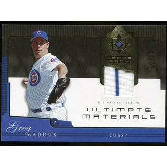 2005 Upper Deck Ultimate Collection Materials #GM Greg Maddux Jersey 25/25