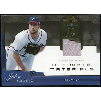 2005 Upper Deck Ultimate Collection Materials #SM John Smoltz Jersey /25