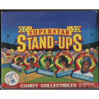1991 Topps Superstar Stand-Ups Baseball Box