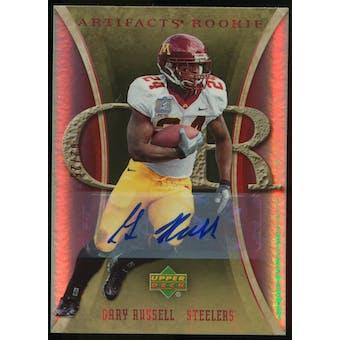 2007 Upper Deck Artifacts Rookie Autographs #122 Gary Russell Autograph /25